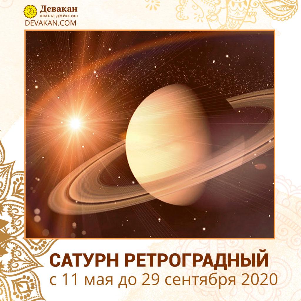 Ретроградный Сатурн 2020