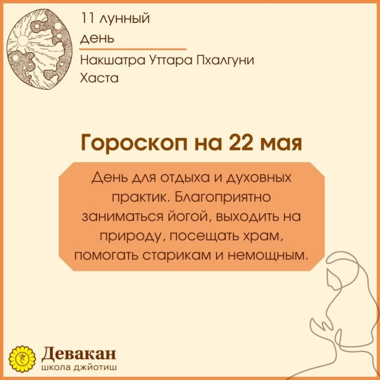 гороскоп на сегодня 22 мая 2021