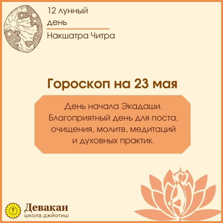 гороскоп на сегодня 23 мая 2021