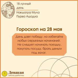 гороскоп на сегодня 28 мая 2021