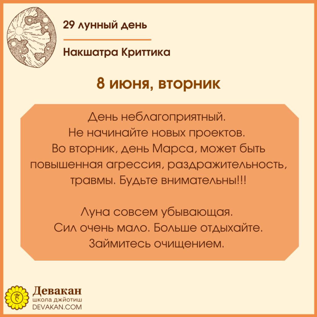 Лунный календарь и Гороскоп на неделю с 7 по 13 июня 2021 2