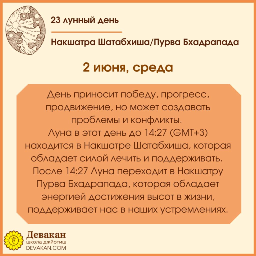 гороскоп на сегодня 2 июня 2021