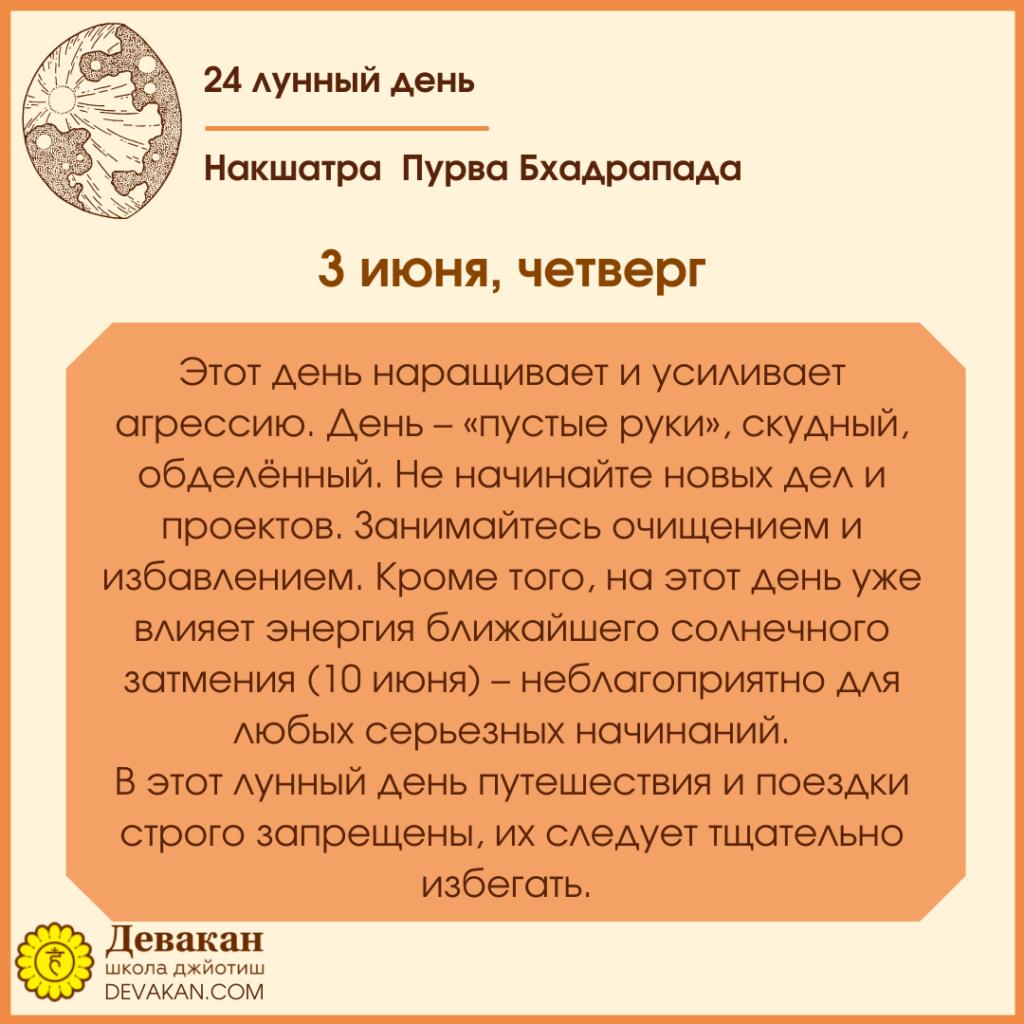 гороскоп на сегодня 3 июня 2021