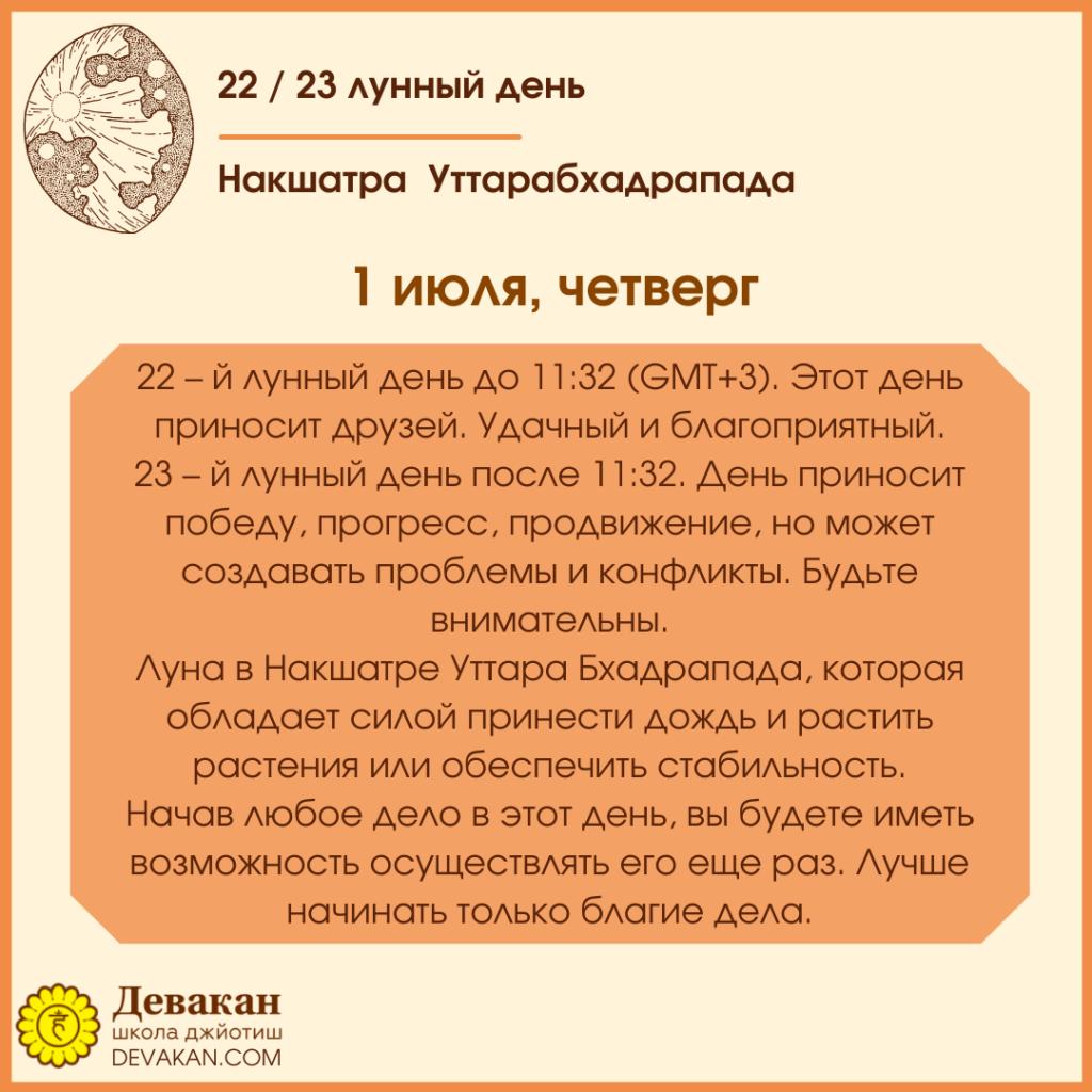 Лунный календарь и Гороскоп на неделю с 28 июня по 4 июля 2021 4
