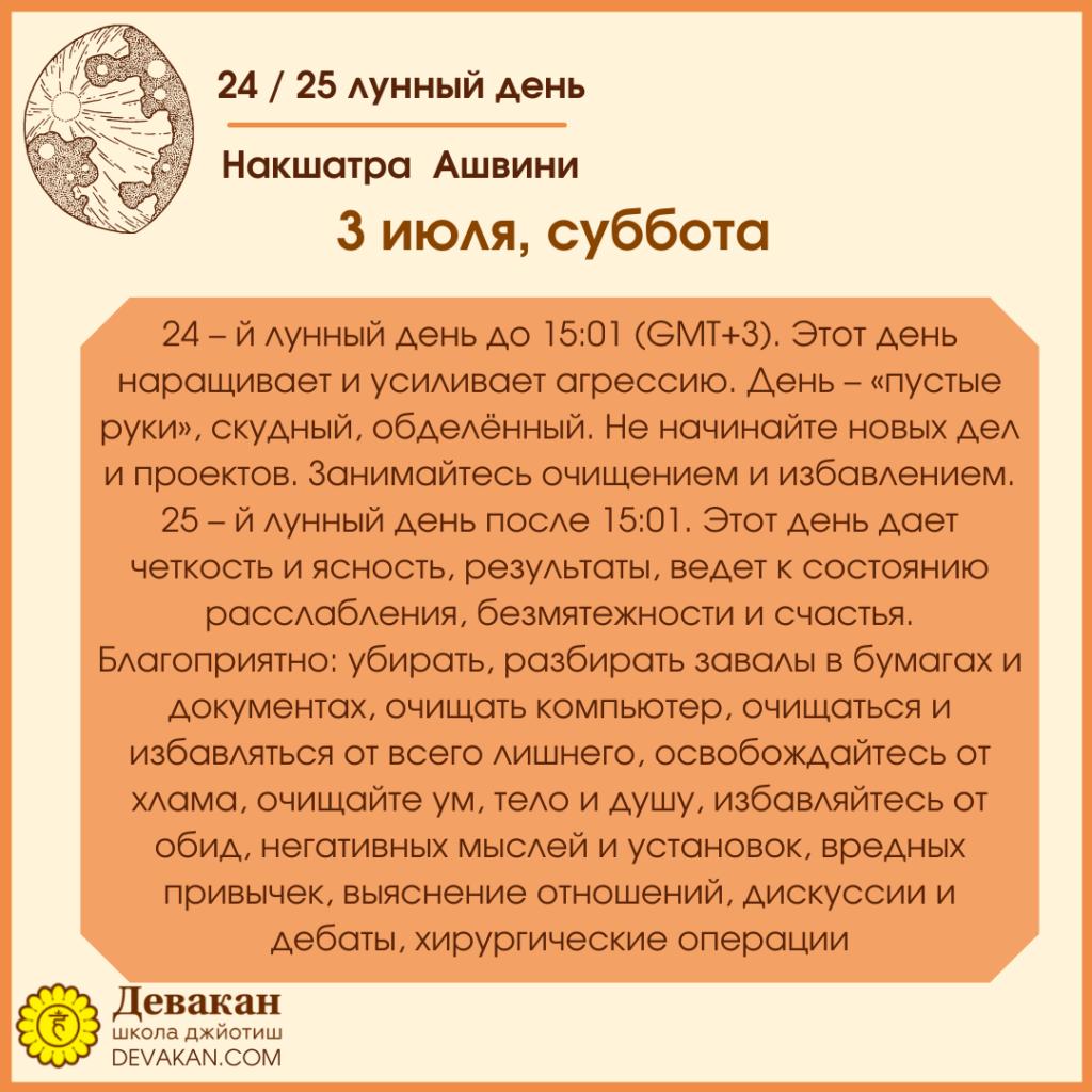 Лунный календарь и Гороскоп на неделю с 28 июня по 4 июля 2021 6