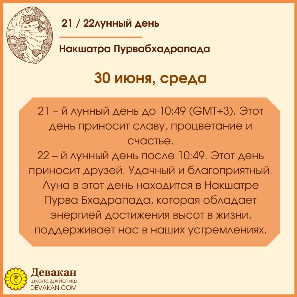 Лунный календарь и Гороскоп на неделю с 28 июня по 4 июля 2021 3