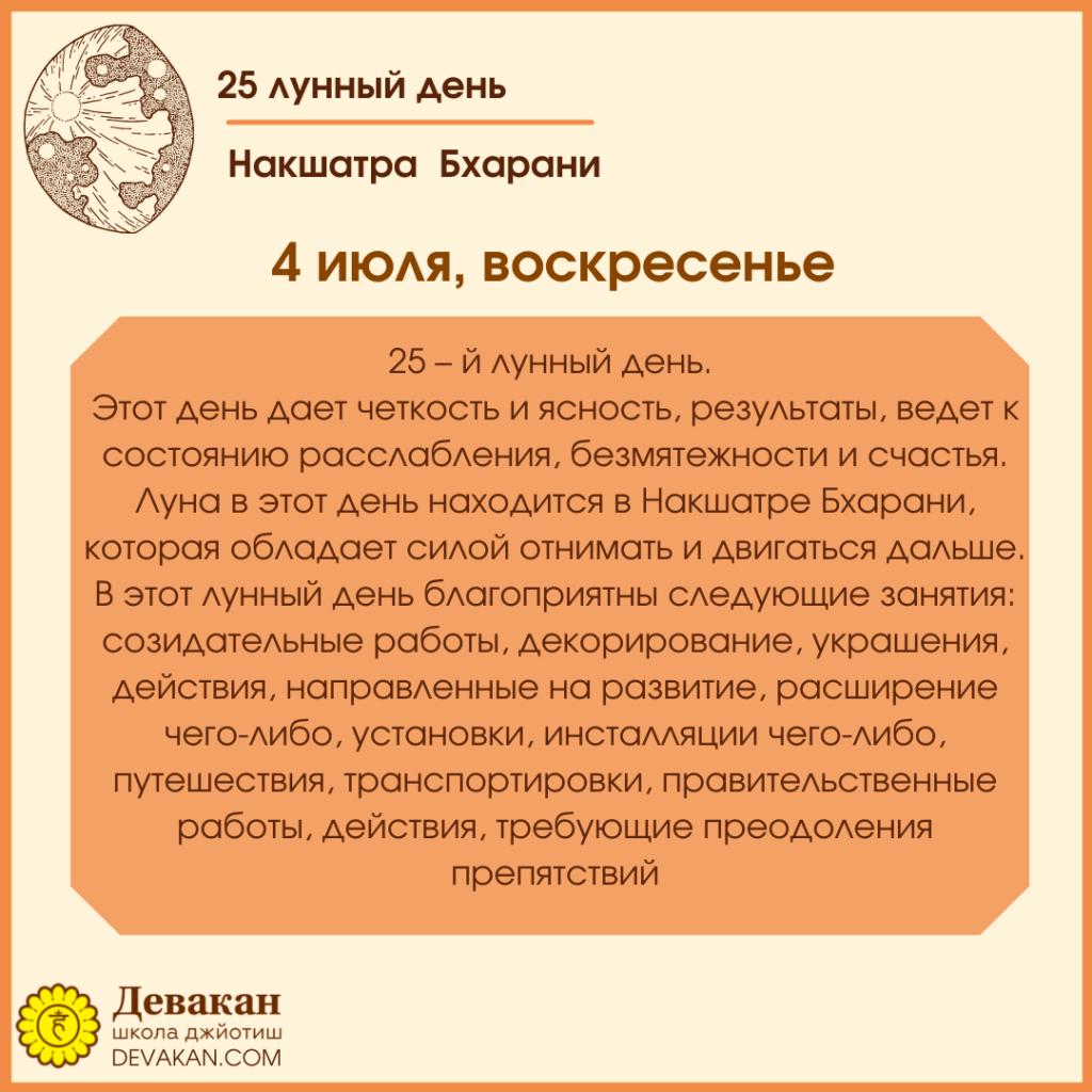 Лунный календарь и Гороскоп на неделю с 28 июня по 4 июля 2021 7